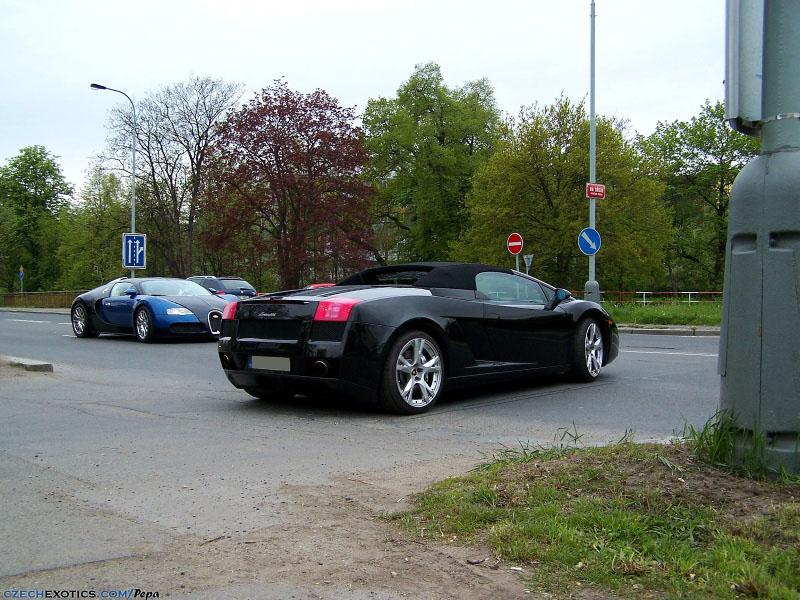 Bugatti Veyron & Gallardo