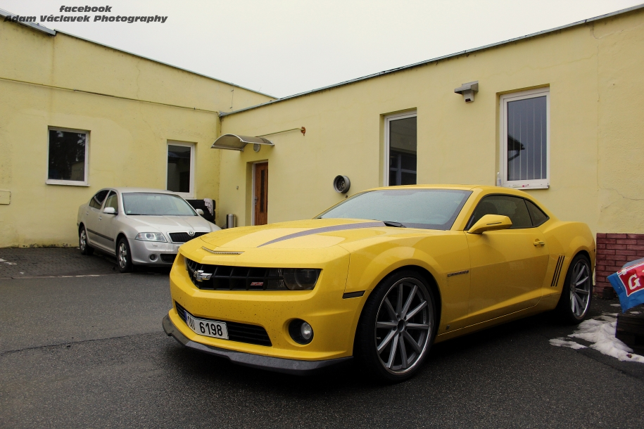 Chevrolet Camaro 2SS 600 hp