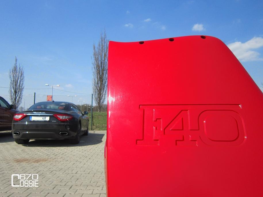 Ferrari F40 & Maserati GranTurismo S