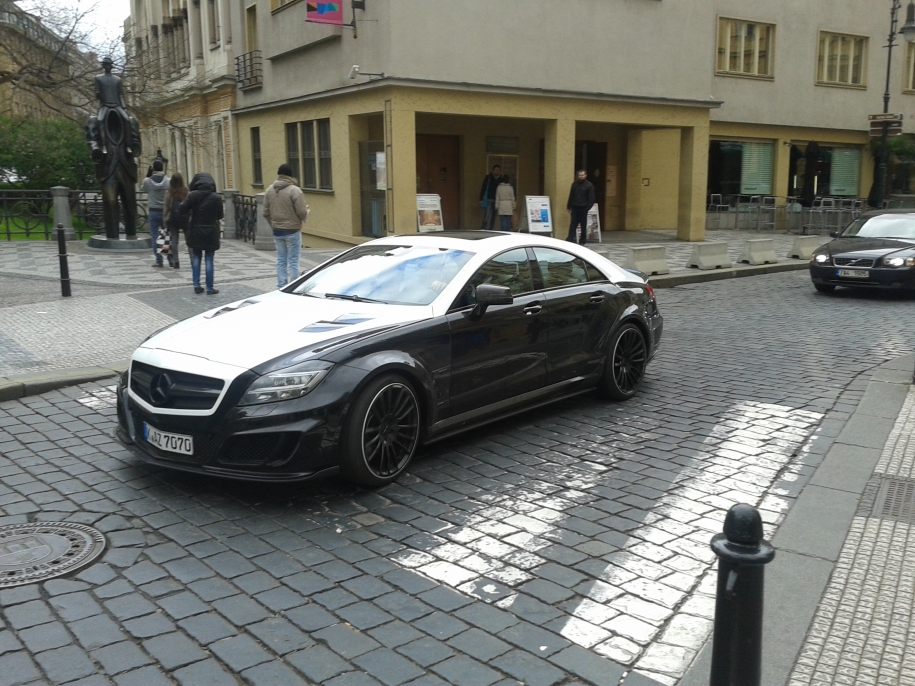 Mercedes CLS Mansory