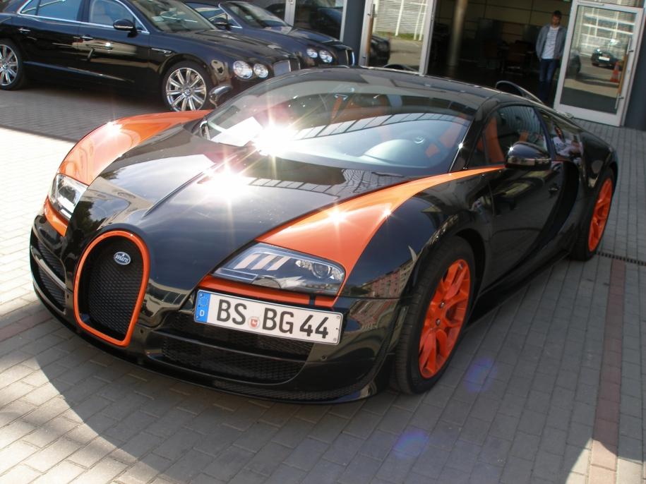 Bugatti Veyron GS WRC