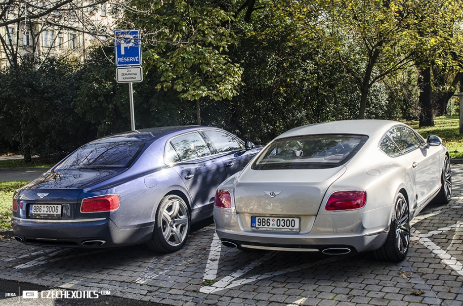 Bentley GT & Flying Spur