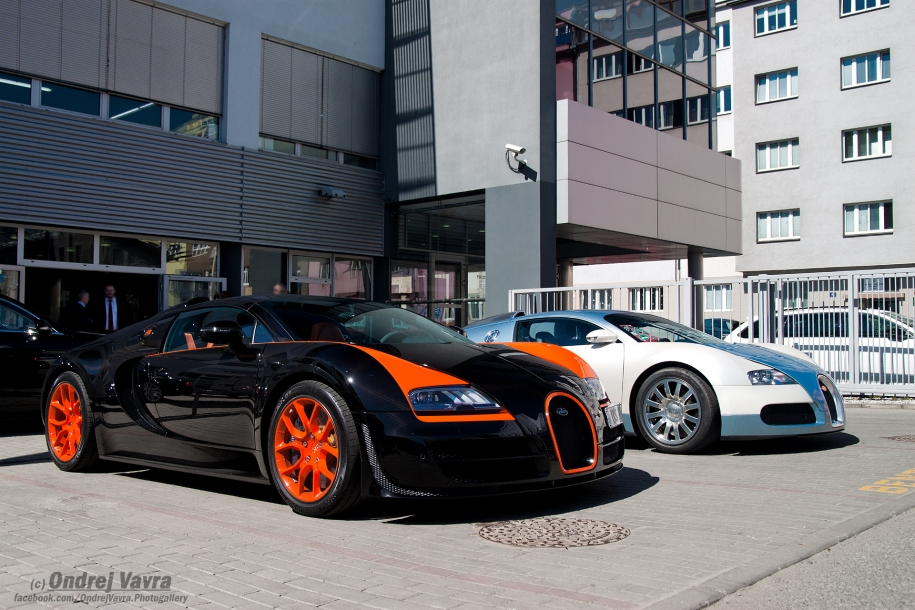Bugatti Veyron EB16.4 Vitesse World record car