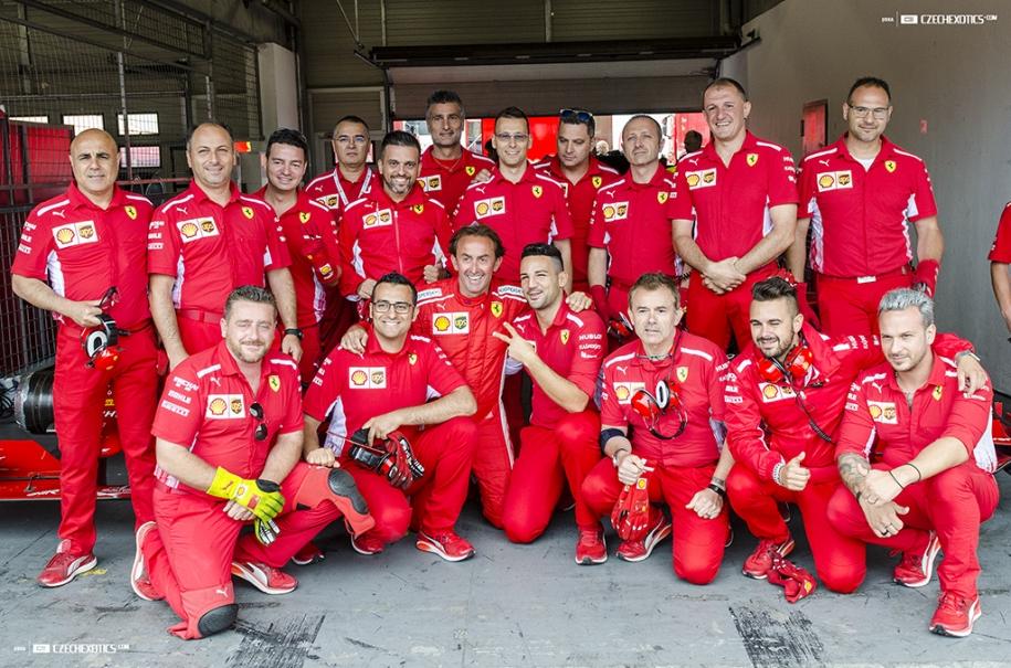 Ferrari Challenge Brno 2018