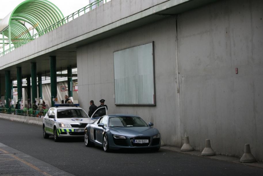 Audi R8 Nizozemská